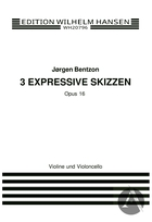 3 Expressive Skizzen Op. 16, Op.16