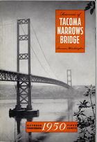 Souvenir of Tacoma Narrows Bridge, Tacoma, Washington