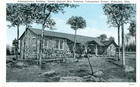 Postcard of Administration Building, United Spanish War Veterans, Colonization Project, Wilburton, Okla