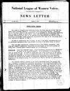 News Letter, vol. 3 no. 1, January 4, 1937