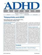 ADHD Report, Volume 21, Number 01, February 2013