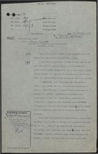 Draft of Letter from P. Rogers to S. W. C. Phillips re: System for Controlling Cypriot Immigration to UK, November 7, 1958
