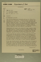 Palestine in the [Security Council], March 24, 1954