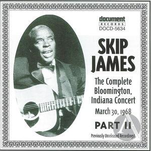 Skip James Live Vol. 3  Bloomington 1968 Part 2