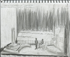 Cuban Spring: Rough idea sketch