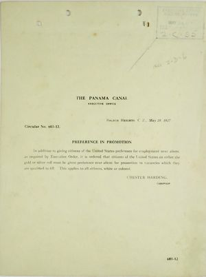 Circular No. 603-12 - Preference in Promotion, May 19, 1917