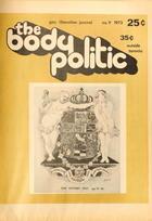 The Body Politic no. 9, 1973