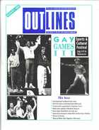 Outlines, The Voice of the Gay and Lesbian Community, Vol. 4, No. 3, August, 1990