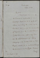 Letter from William Stuart to Earl of Russell re: Emigration, October 18, 1862