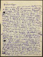 Draft of Letter by Markus Brann, Undated