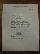 James P. Lewis to William Fee, July 13, 1962