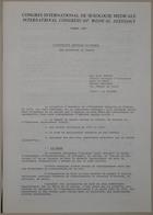 Congrès International de Sexologie Médicale - International Congress of Medical Sexology (Sex Education In France - L' Education Sexuelle En France) - Paris 1974