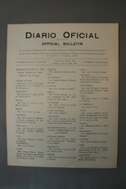 Diario Oficial. Official Bulletin, of the First Conference of the Inter American Commission of Women, Created by the Sixth International Conference of American States, University of Havana, February 16-24, 1930