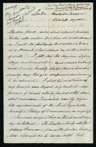 Letter from Francis Russell to Samuel Pratt Winter, Undated