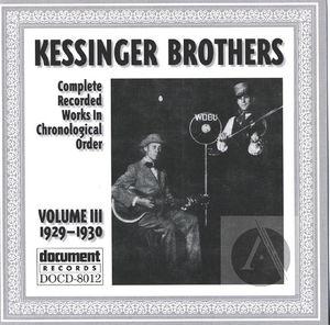 Kessinger Brothers (Clark & Lucas) Vol. 3 (1929-1930)