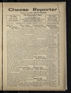 Cheese Reporter, Vol. 54, no. 51, Saturday, August 30, 1930