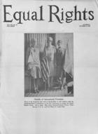 Equal Rights, Vol. 14, no. 35, October 06, 1928