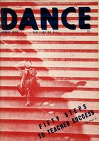 Dance (Magazine), Vol. 4, no. 5, August, 1938, Dance, Vol. 4, no. 5, August, 1938