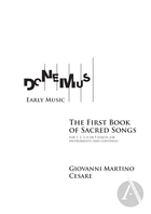 Early Music Edition: The First Book of Sacred Songs