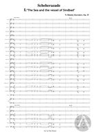 Scheherazade, arranged for Symphonic Band - Movement 1: The Sea and the Vessel of Sinbad, Op. 35