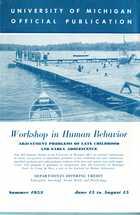 Workshop in Human Behavior