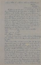 Copy of Letter from George Leslie, June 24, 1853
