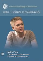 Series I - Systems of Psychotherapy, The Dynamics of Power and Privilege in Psychotherapy