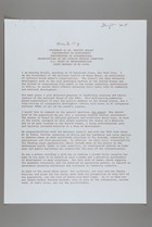 Draft written by Mildred Persinger of Statement for Dr. Dorothy Height, March 8, 1978