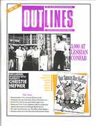 OUTLINES THE VOICE OF THE GAY AND LESBIAN COMMUNITY VOL. 4, No. 12, MAY, 1991