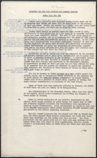 R.S. Memo No.101 from L.W. Crawford to Mr. Edmund G. Harwood re: Material for the July Cabinet & General Reports on Crop Conditions, 1946