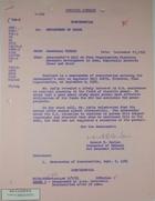 Airgram from Robert H. Harlan to Dept. of State plus Memo of Conversation re: Plan Organization, September 1965