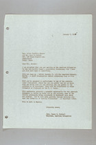 Letter from Helen Fowler to Alice Franklin Bryant, January 6, 1955