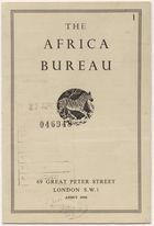 The Africa Bureau (Pg.Int.Ab.1)