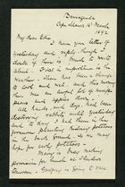 Letter from Robert Anderson to Edith Thompson, March 16, 1892