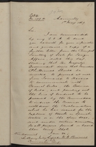 Correspondence re: Commodore Phillimore, May 1, 1869