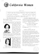 California Women: Bulletin, August 1981