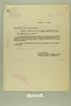 Memo from E. D. Anderson re: Military Guard for Papago Indian Reservation, November 2, 1918