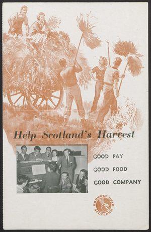 Help Scotland's Harvest - Harvest Help Scotland (1953)