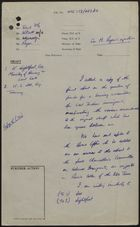 Draft of Letter from P. Rogers to K. Lightfoot and H. S. Lee, re: Final Report on Funding for West Indian Immigrant Housing, June 1959