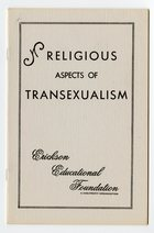 Erickson Educational Foundation - Religious Aspects of Transexualism