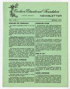 Erickson Educational Foundation Newsletter: Volume 7, Number 1, Spring-1974