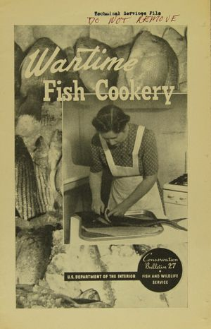 Wartime Fish Cookery