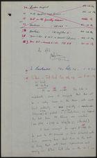 Correspondence re: Racial Discrimination Against Grantley Adams While in Canada, 1954