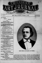 American Art Journal, Vol. 1, no. 8, March 11, 1876