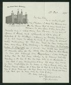 Letter from Robert Anderson to Edith Thompson, December 13, 1895