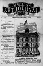 American Art Journal, Vol. 1, no. 4, February 12, 1876