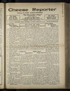Cheese Reporter, Vol. 54, no. 24, Saturday, February 22, 1930