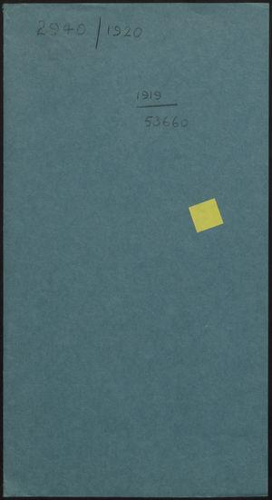 File Folder Cover: 2940/1920, 1919/53660