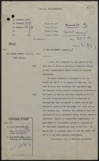 Draft Minute from Philip Rogers to Sir Austin Strutt re: Assistance of Church, WVS, or Other Organizations in Housing Immigrants is Appreciated, June 23, 1959