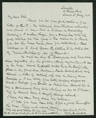 Letter from Robert Anderson to Edith Thompson, January 6, 1916